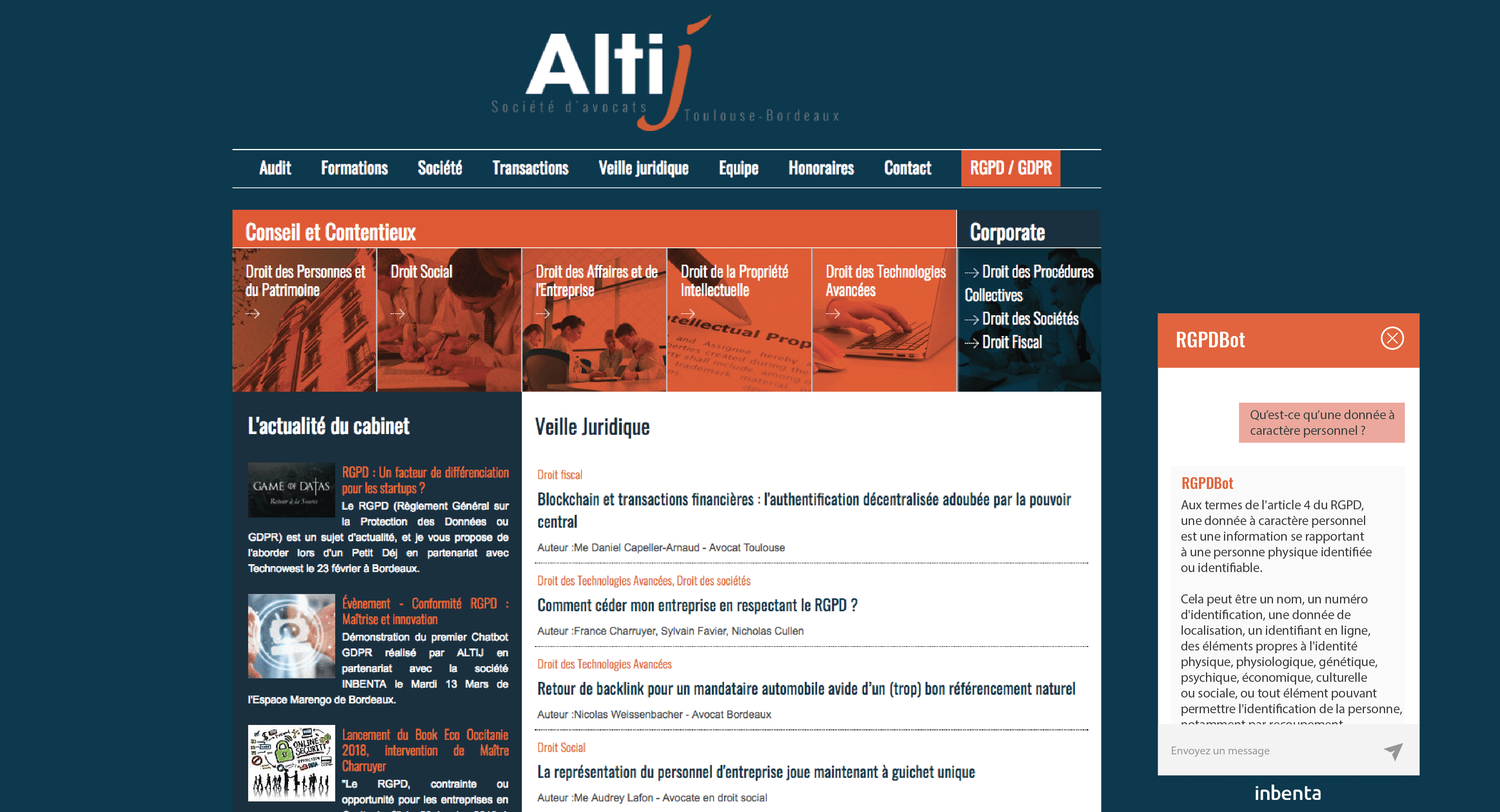 Chatbot Altij