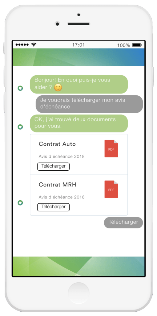 Exemple chatbot