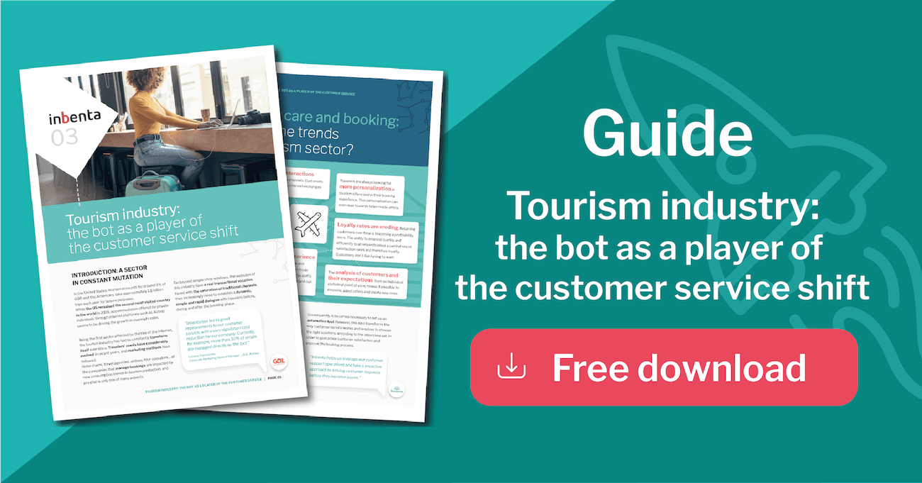 Tourism sector chatbot ebook
