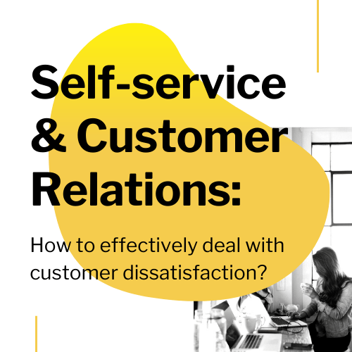Self-service & customer relations