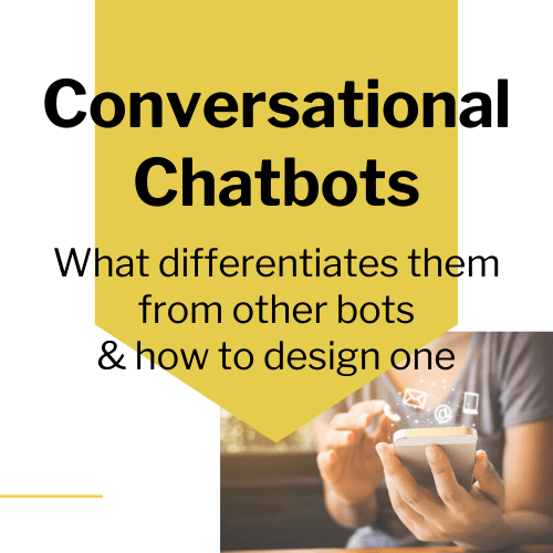 Conversational chatbots