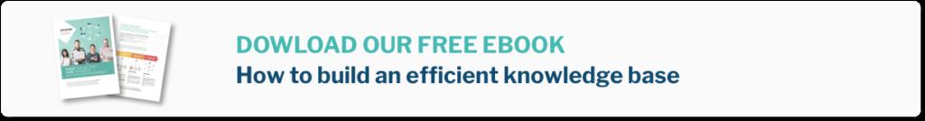 Inbenta Knowledge Management System ebook