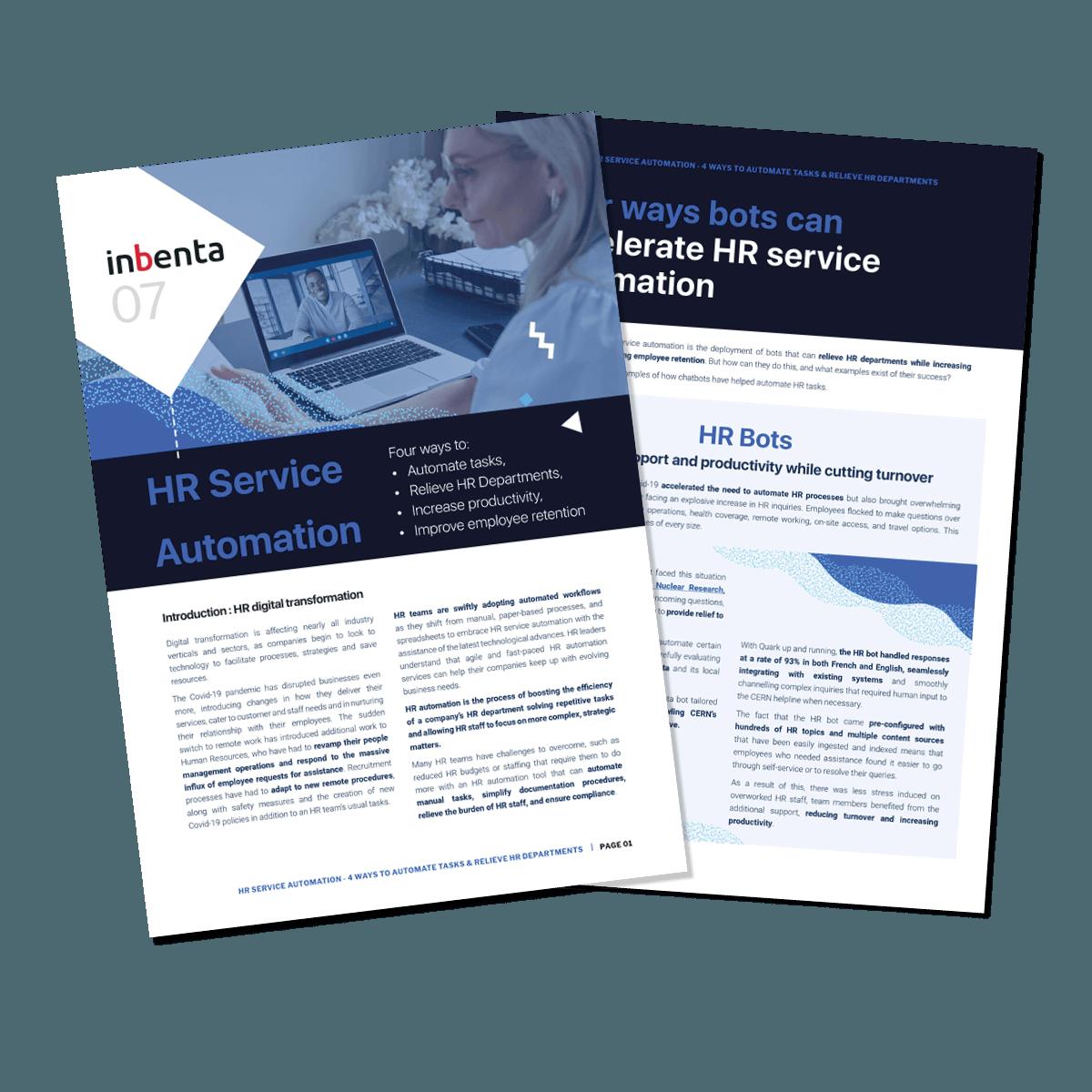 HR Service Automation
