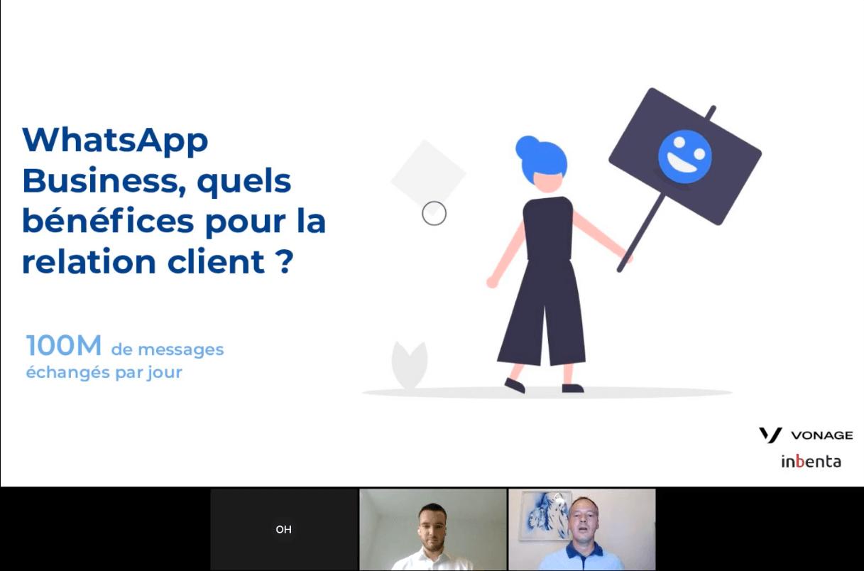 WhatsApp Business et chatbot