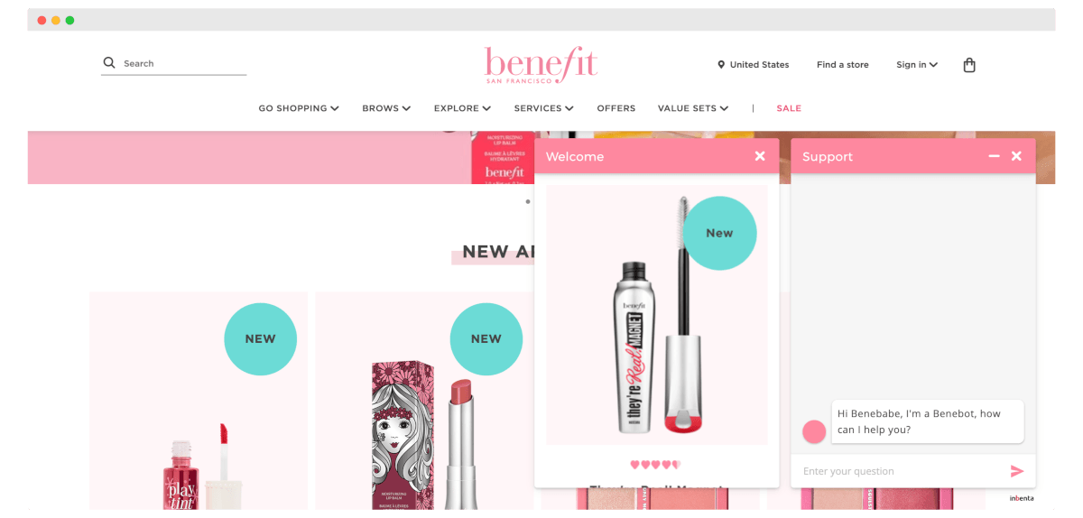 Cosmetic industry chatbot