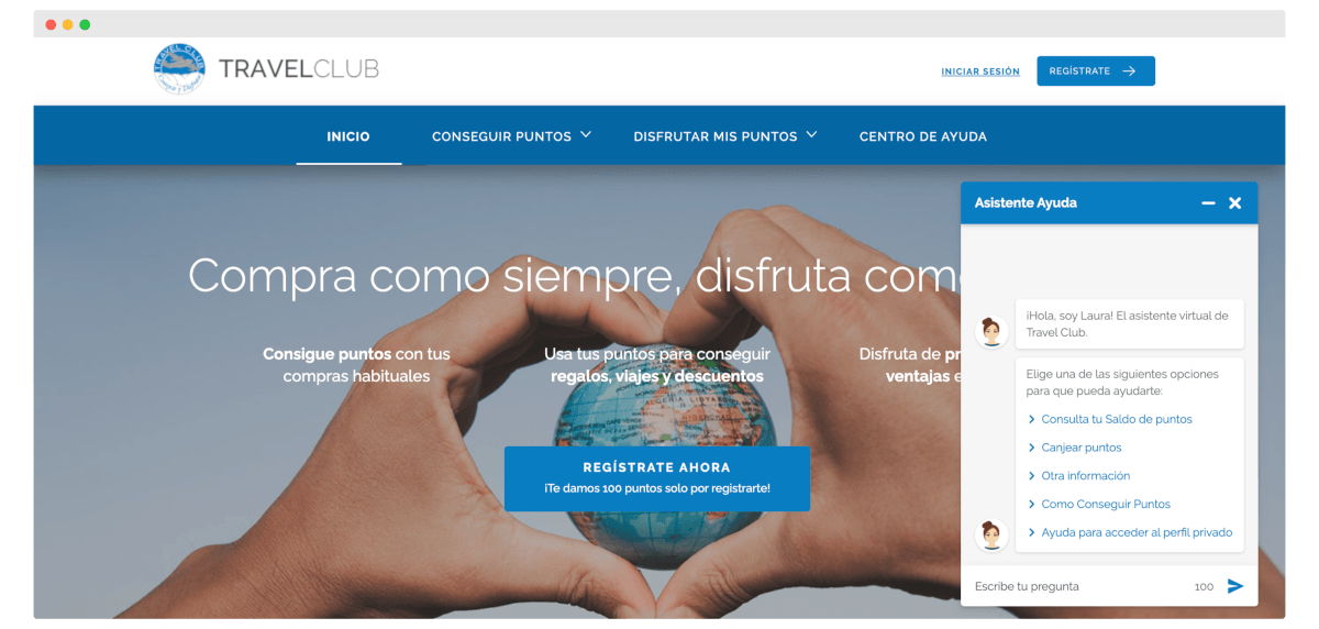Travelclub use case