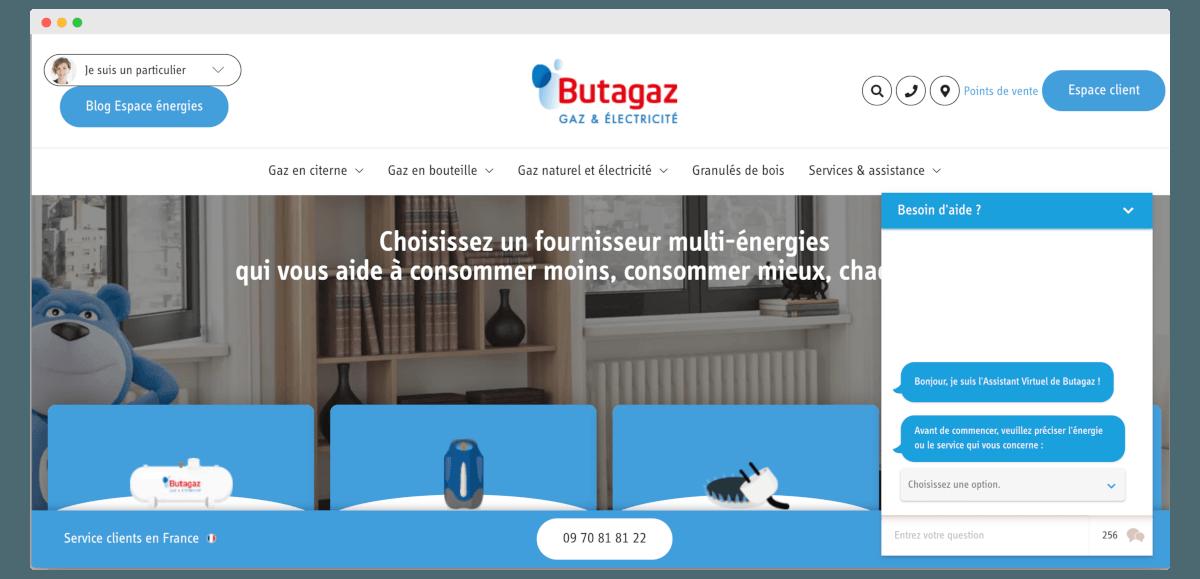 Discover butagaz chatbot